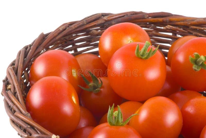 Haut proche de tomate. photo stock
