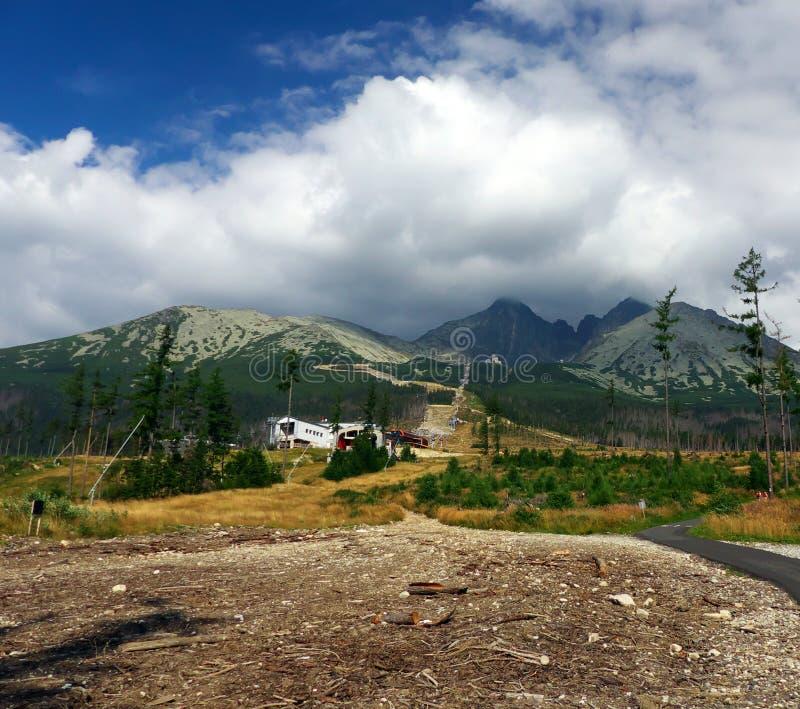 Haut Tatras - paysage images stock