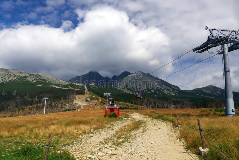 Haut Tatras - paysage image libre de droits