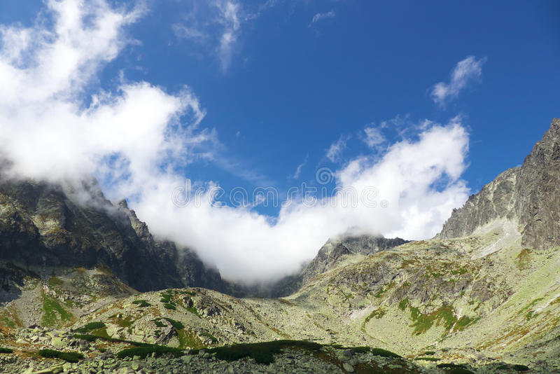 Haut Tatras - paysage photographie stock