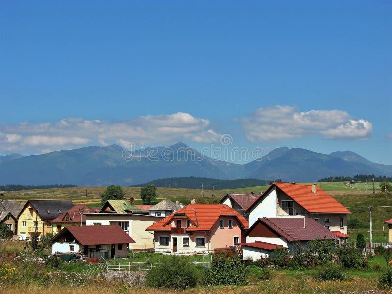 Haut Tatras, Slovaquie photographie stock libre de droits