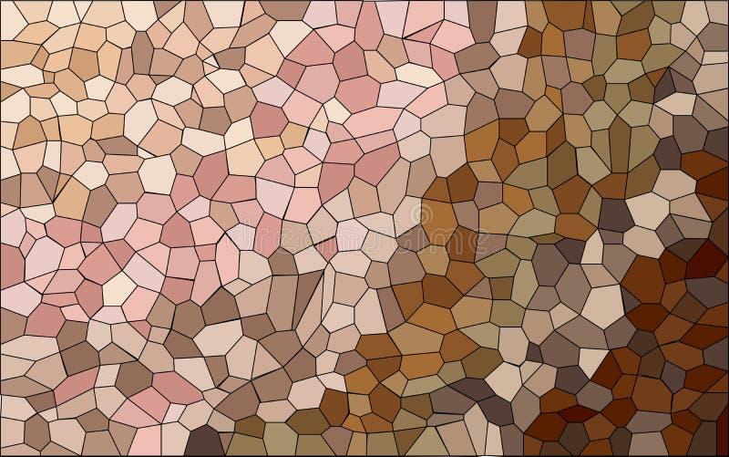 Haut Tone Mosaic lizenzfreie abbildung