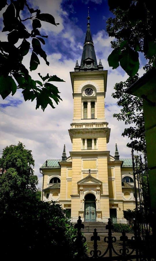 Haute église photographie stock