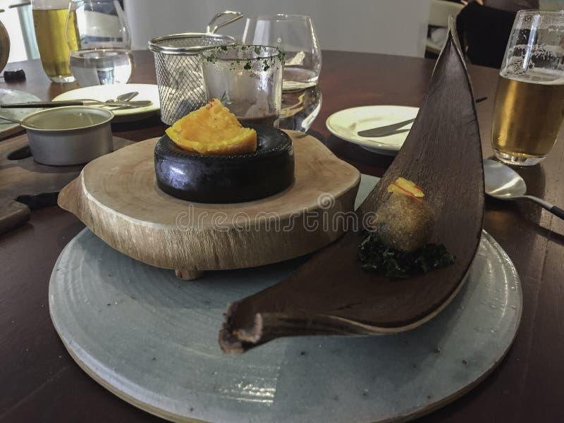 Haute cuisine de Feijoada images libres de droits