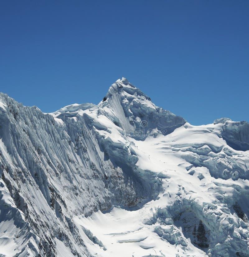 Haute montagne de Cordillères photographie stock