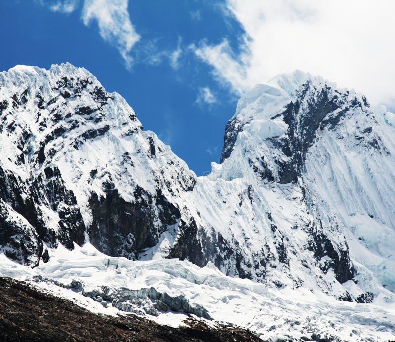 Haute montagne de Cordillères photographie stock libre de droits