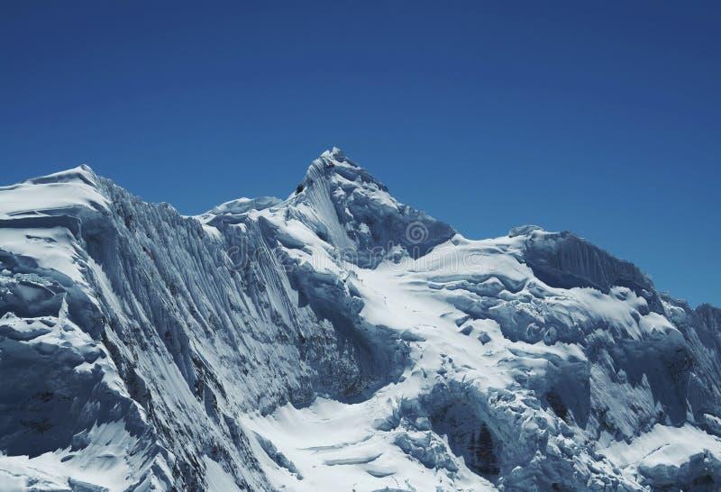 Haute montagne de Cordillères photo stock