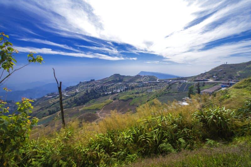 Haute montagne en Thaïlande photo stock