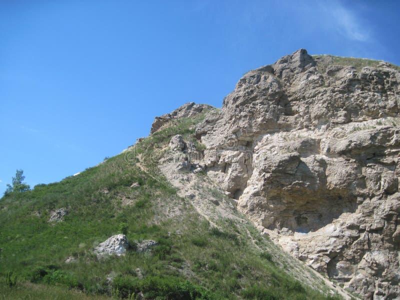 Haute roche photo libre de droits