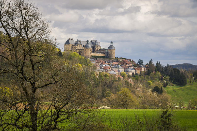 Hautefort, Франция стоковое фото