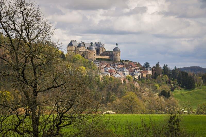 Hautefort, França foto de stock