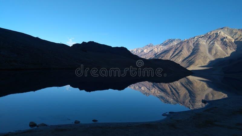 Hautes altitudes de lacs photo stock