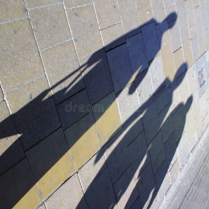 Hautpstraßekäufer lizenzfreies stockfoto