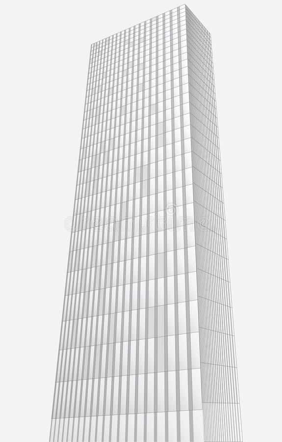 Hauts bâtiments abstraits illustration stock