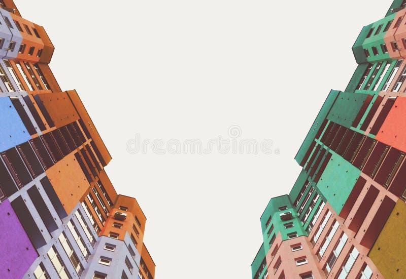 Hauts bâtiments de la ville photos libres de droits