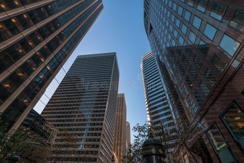 Hauts bâtiments de San Francisco photographie stock libre de droits