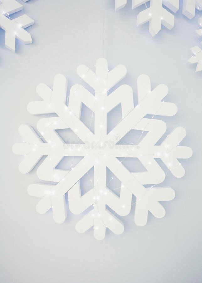 Hauts flocons de neige de définition photographie stock libre de droits