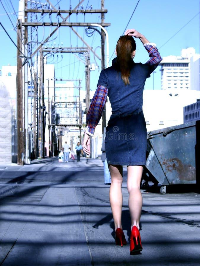 Hauts talons rouges photographie stock libre de droits