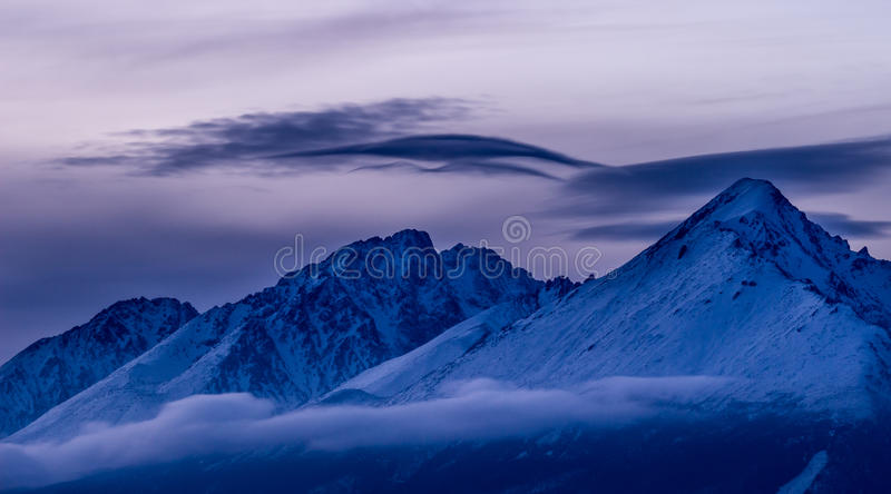 Hauts tatras photo stock