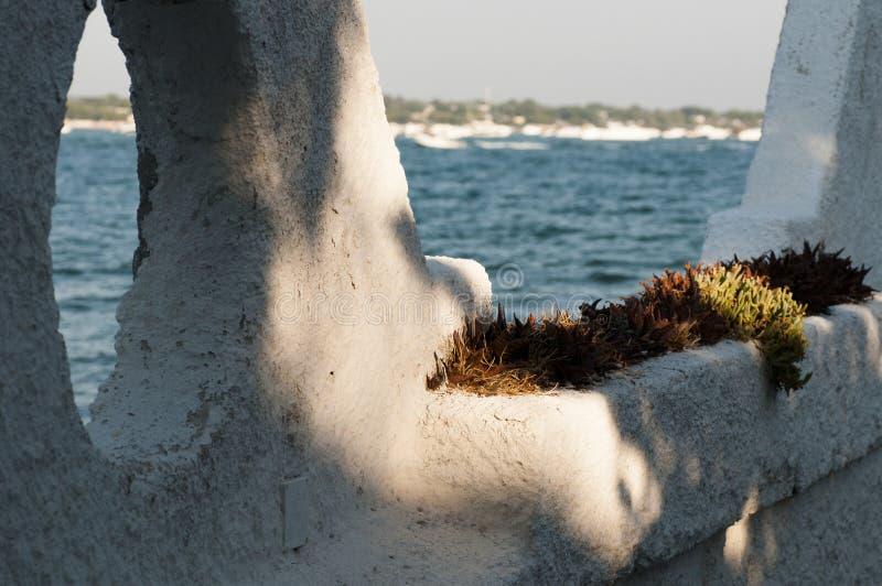 Hav av Porto Cesareo Puglia royaltyfria foton