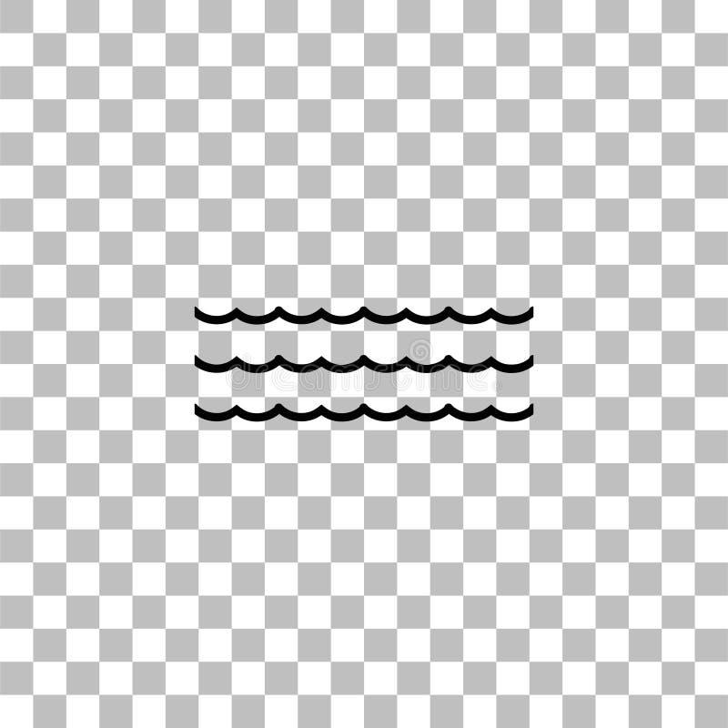 Hav- eller havssymbol framl?nges stock illustrationer