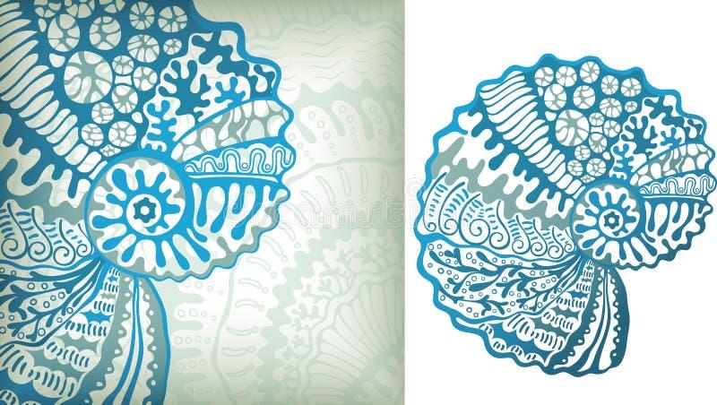 hav för 3 livstid vektor illustrationer
