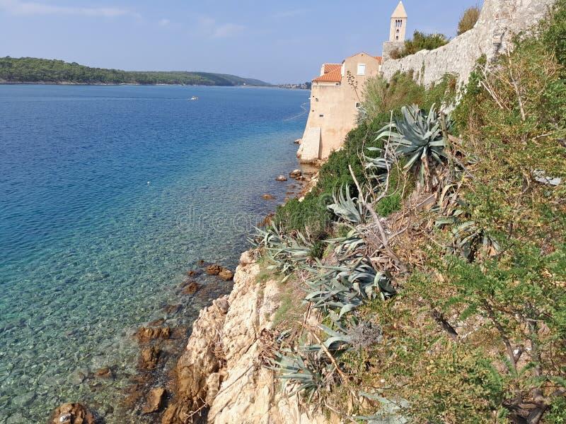 Hav från Coratia, landscrape fotografering för bildbyråer