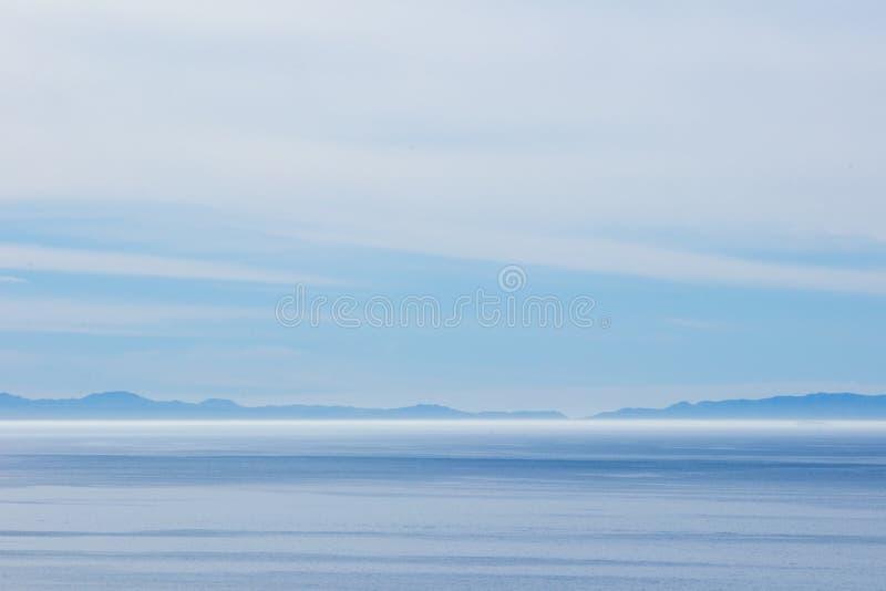 Hav och horisont royaltyfri fotografi