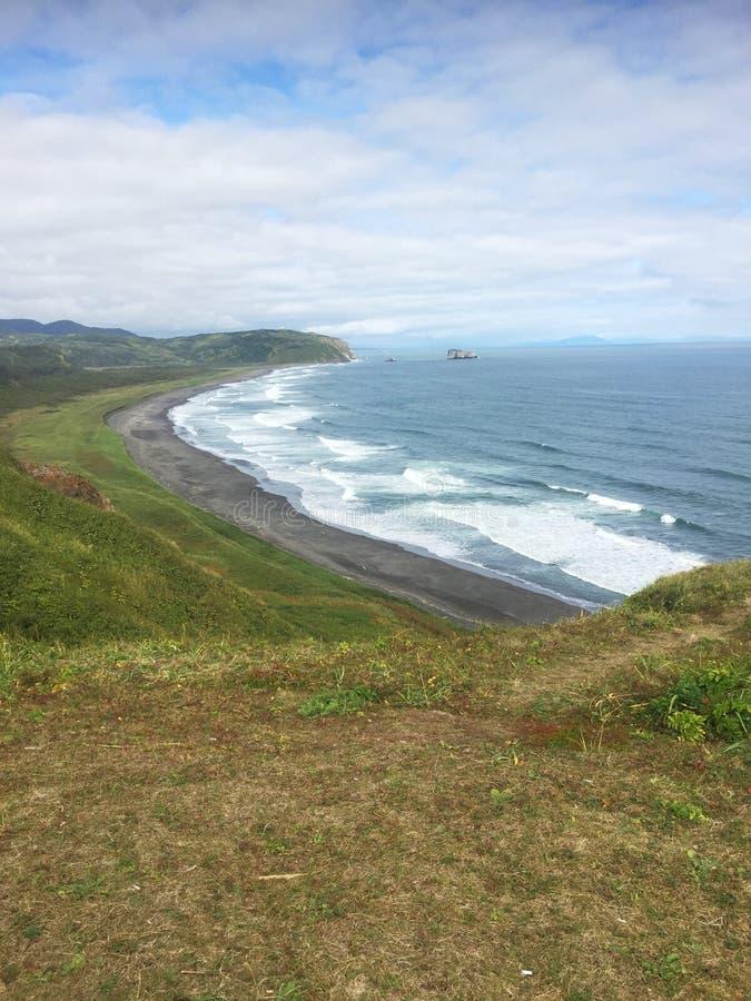 hav Stillahavs- USA för malibu för los för angeles strandkustlinje royaltyfria foton