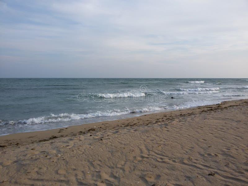 Hav strand royaltyfri fotografi