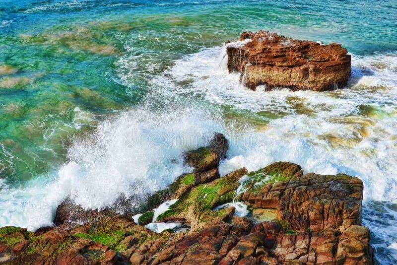 hav vaggar waves fotografering för bildbyråer