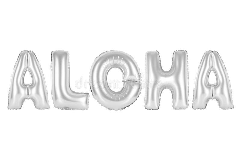 Havaí, Aloha, croma a cor cinzenta fotos de stock