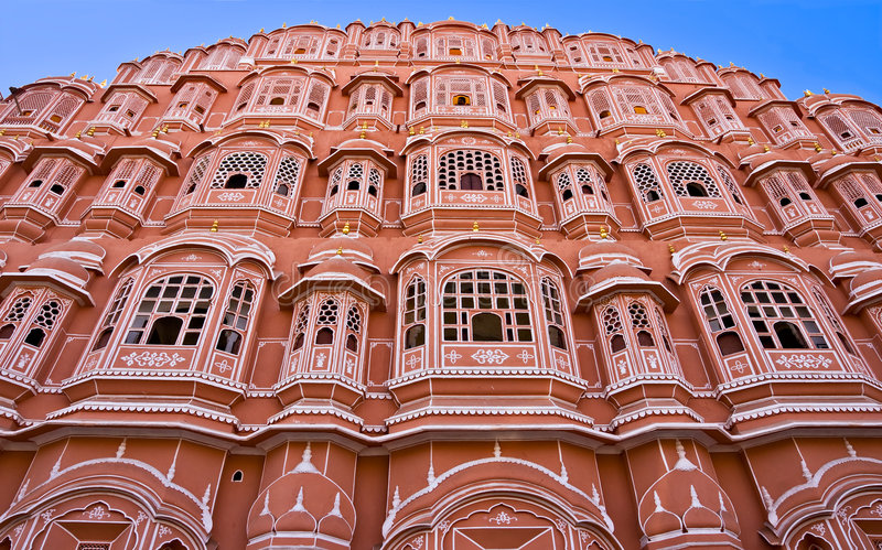 hava ind Jaipur mahal obraz stock