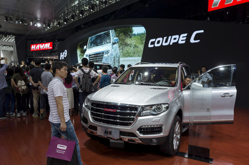 HAVAL Coupe C SUV royalty free stock photos