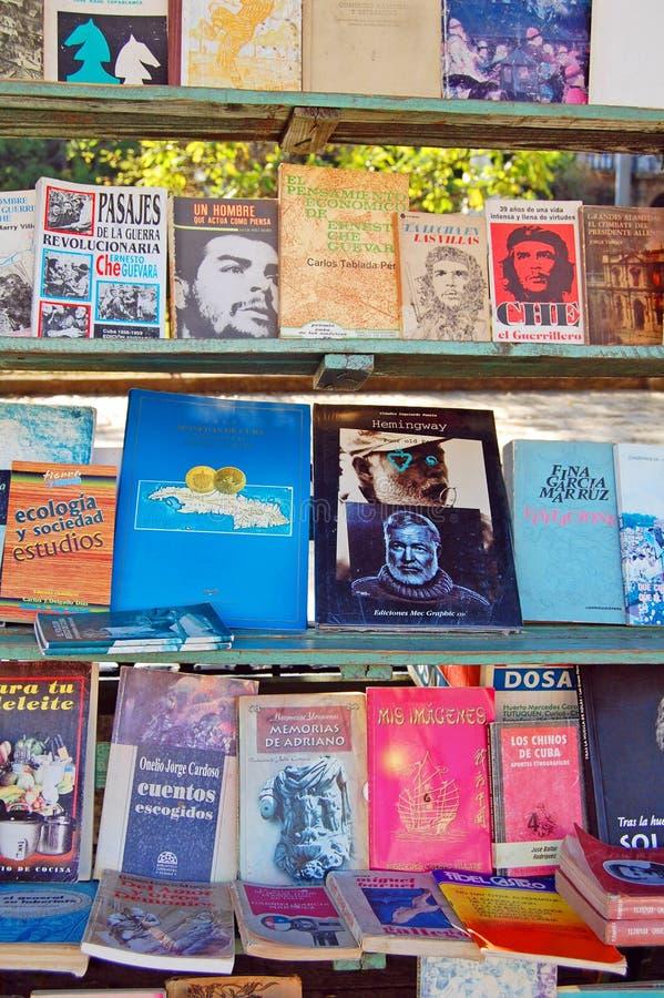 Havana bokstall royaltyfria bilder