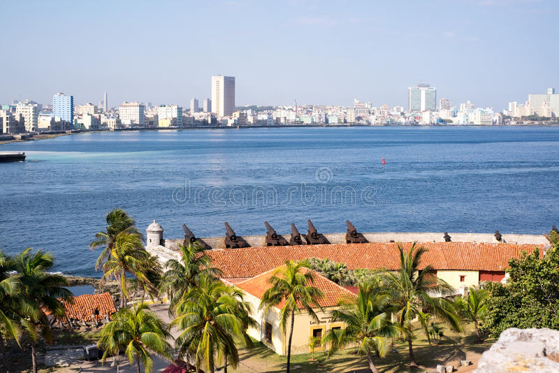 Havana Cannons stockfoto