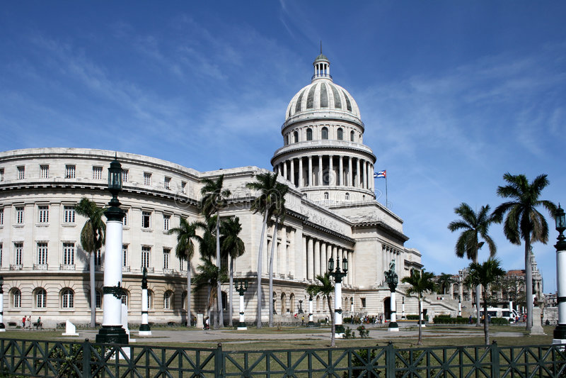 Havana capitolio royalty free stock photos