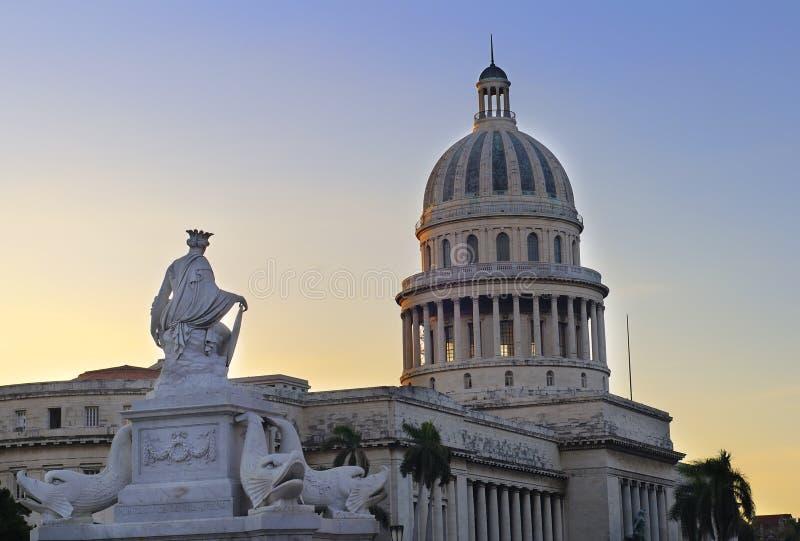 Havana Capitoly stock fotografie