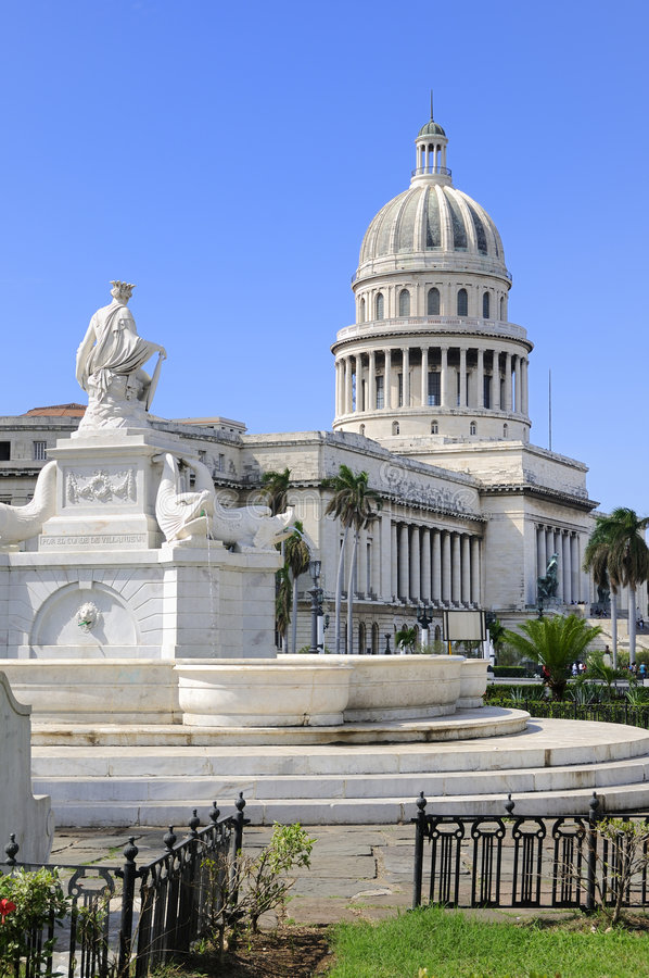 Havana capitoly stockbild