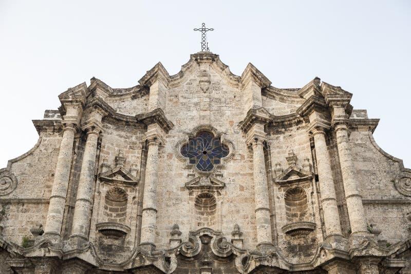 Havana Cathedral fotos de stock royalty free