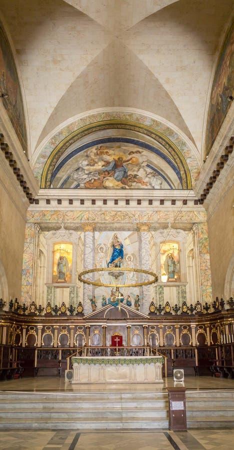 Havana Cathedral-Innenraum lizenzfreie stockfotografie
