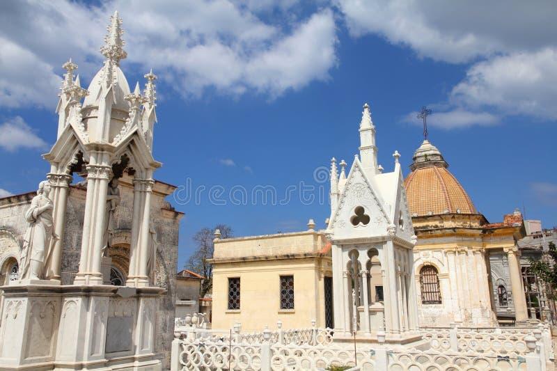 Havana cemetery stock photos