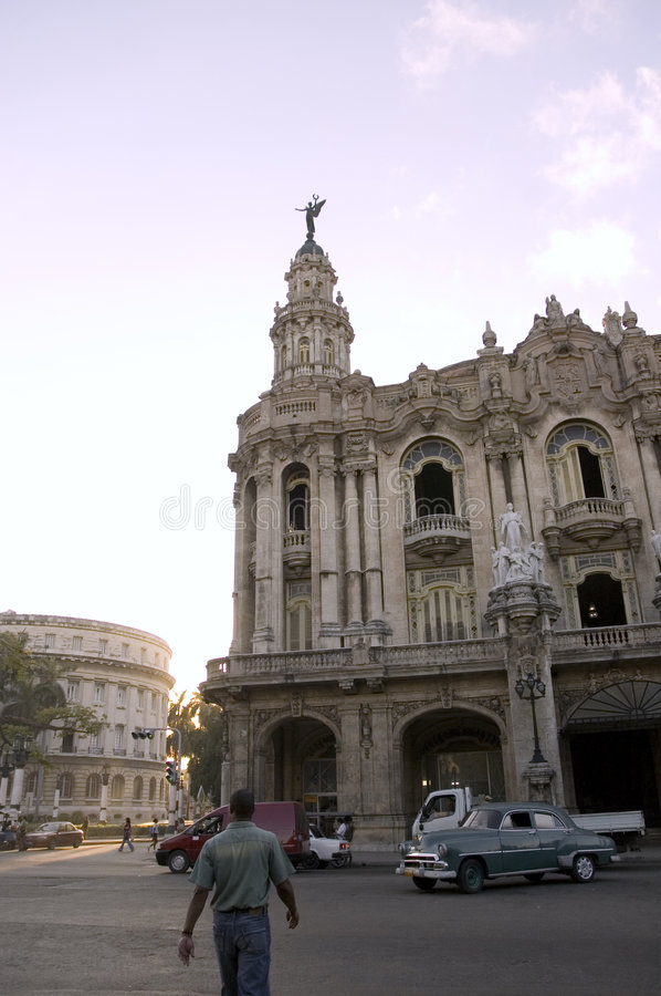 Havana city view royalty free stock images