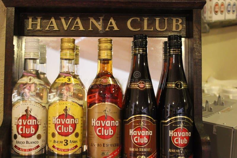 Havana Club, de echte Smaak van Cuba stock afbeeldingen