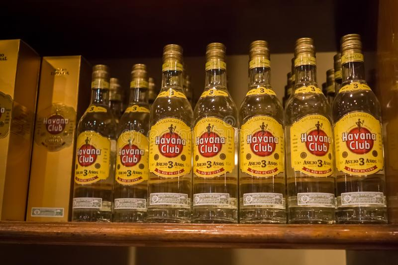 Havana Club-Rum stockfoto