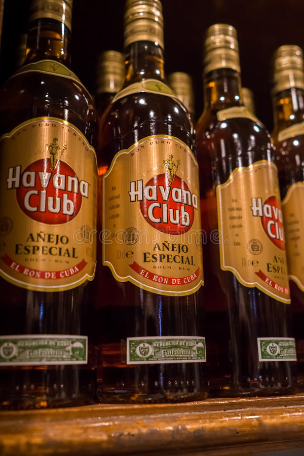 Havana Club-Rum stockbilder