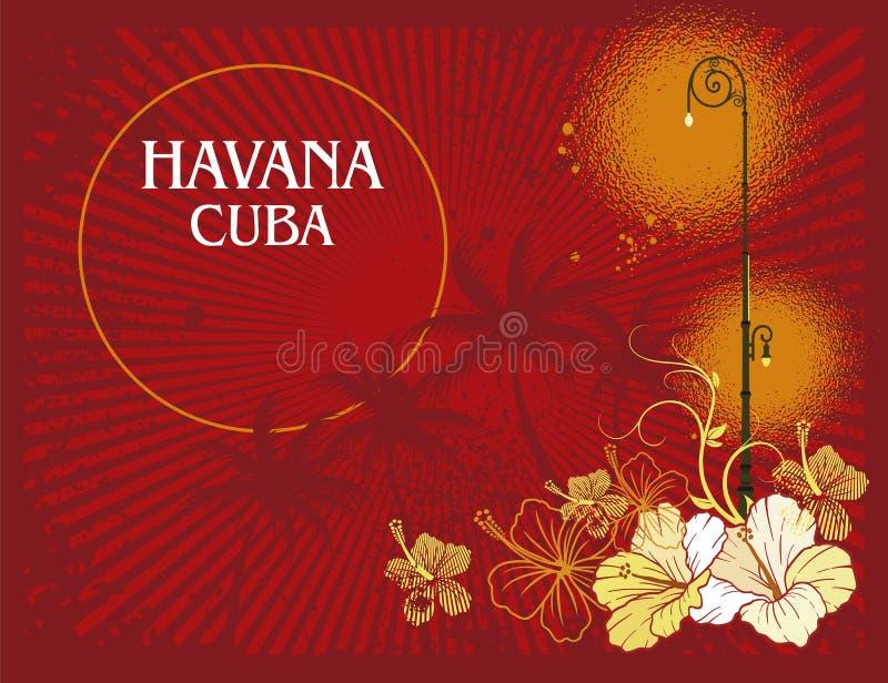 Havana Cuba ilustração royalty free