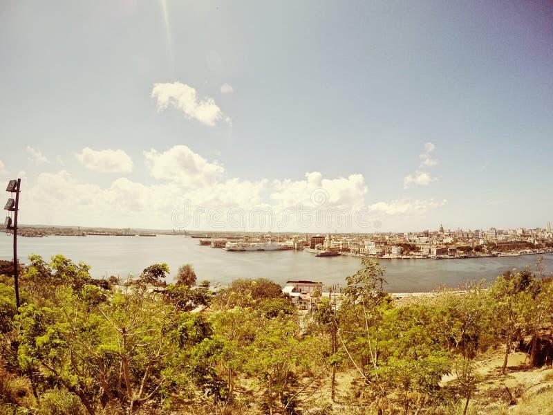 Havana Cuba anziana, scape della città fotografie stock libere da diritti