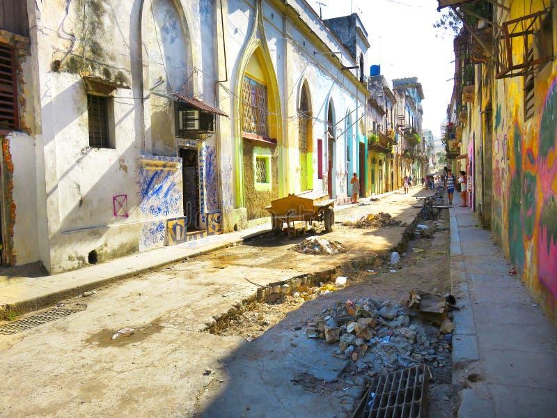 Real life in Havana, Cuba stock photos