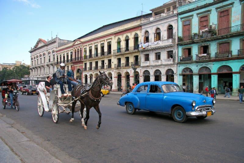 Cuba transportation royalty free stock images